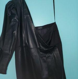 Eloquii Faux leather derss